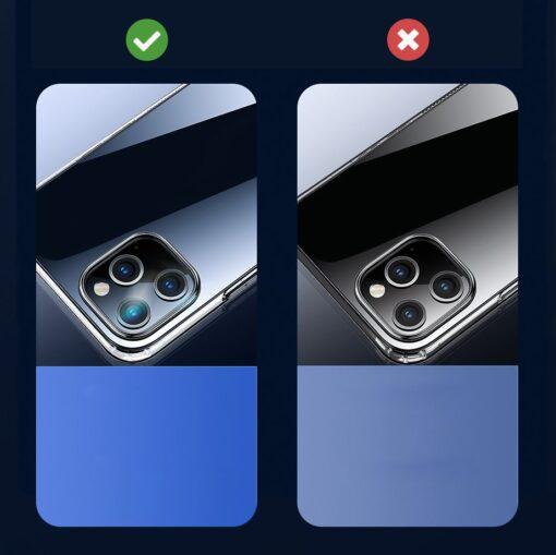 iPhone 12 Pro Max umbris Joyroom T silikoonist labipaistev 6