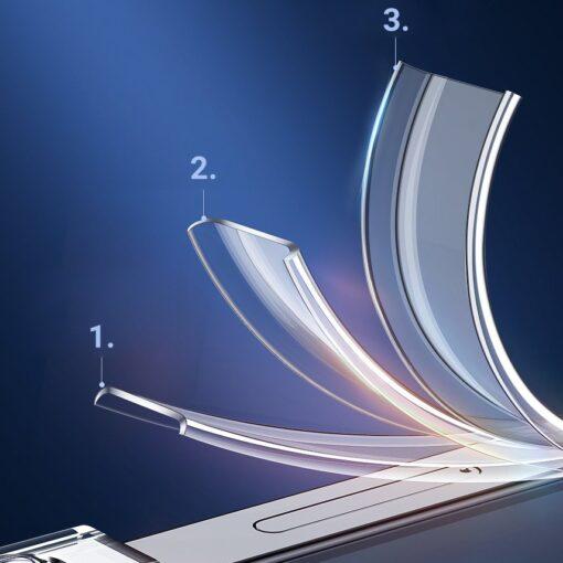 iPhone 12 Pro Max umbris Joyroom T silikoonist labipaistev 7
