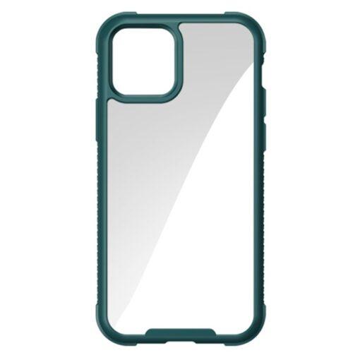 iPhone 12 Pro Max umbris tugevdatud nurkadega Joyroom Frigate roheline