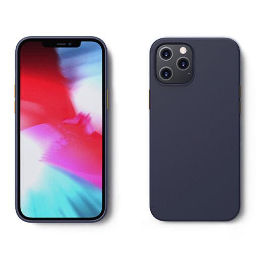 iPhone 12 ja 12 PRO silikoonist umbris Joyroom Color Series must 1 1