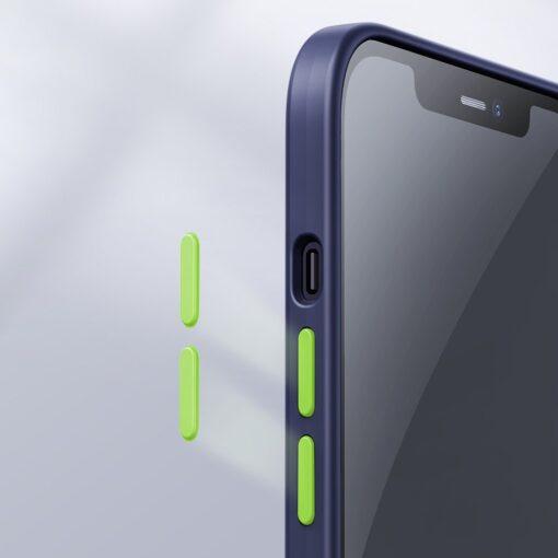iPhone 12 ja 12 PRO silikoonist umbris Joyroom Color Series must 10 1