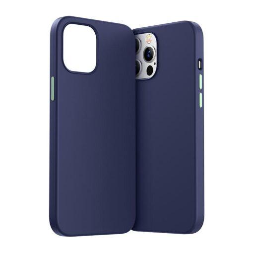 iPhone 12 ja 12 PRO silikoonist umbris Joyroom Color Series must 11