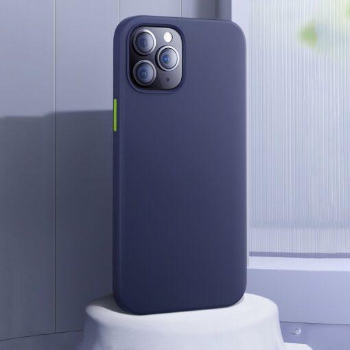 iPhone 12 ja 12 PRO silikoonist umbris Joyroom Color Series must 2 1