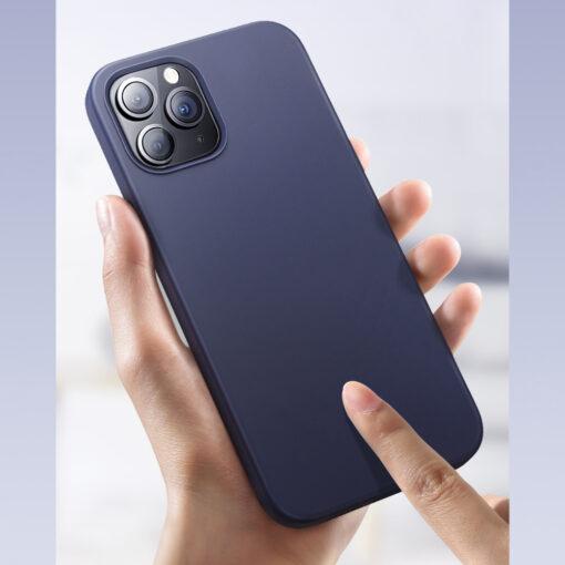 iPhone 12 ja 12 PRO silikoonist umbris Joyroom Color Series must 3