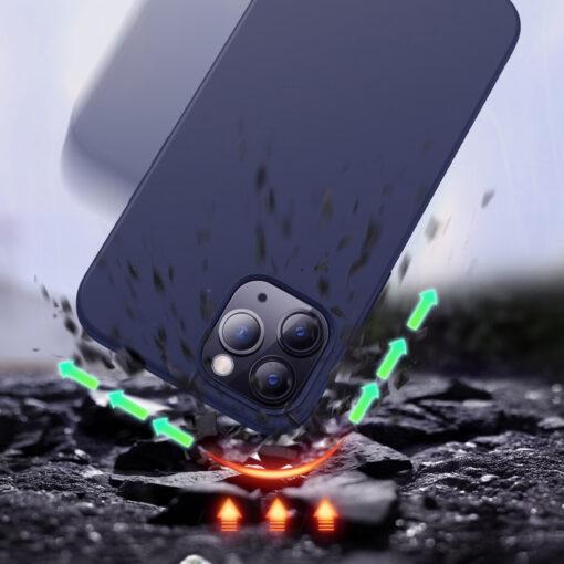 iPhone 12 ja 12 PRO silikoonist umbris Joyroom Color Series must 6 1