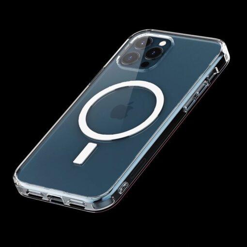 iPhone 12 ja 12 Pro MagSafe umbris silikoonist Joyroom Michael Series labipaistev 12