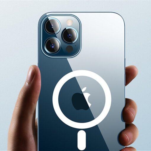iPhone 12 ja 12 Pro MagSafe umbris silikoonist Joyroom Michael Series labipaistev 3