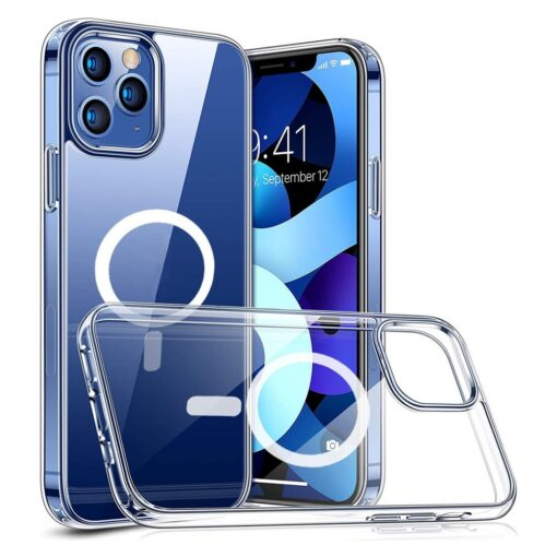 iPhone 12 ja 12 Pro MagSafe umbris silikoonist Joyroom Michael Series labipaistev