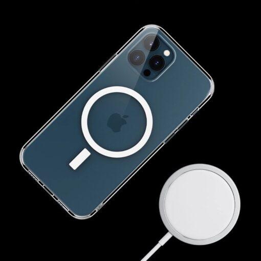 iPhone 12 ja 12 Pro MagSafe umbris silikoonist Joyroom Michael Series labipaistev 6