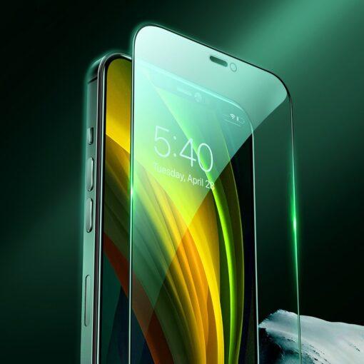 iPhone 12 ja 12 Pro kaitseklaas sinise valguse kaitsega Anti Blue light Joyroom 1