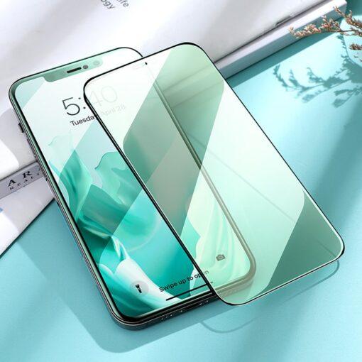 iPhone 12 ja 12 Pro kaitseklaas sinise valguse kaitsega Anti Blue light Joyroom 10