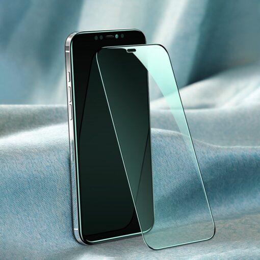 iPhone 12 ja 12 Pro kaitseklaas sinise valguse kaitsega Anti Blue light Joyroom 11