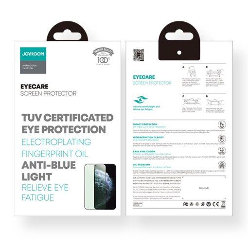 iPhone 12 ja 12 Pro kaitseklaas sinise valguse kaitsega Anti Blue light Joyroom 4