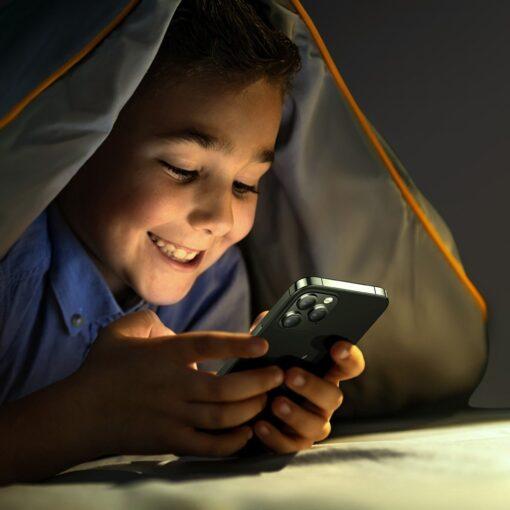 iPhone 12 ja 12 Pro kaitseklaas sinise valguse kaitsega Anti Blue light Joyroom 5