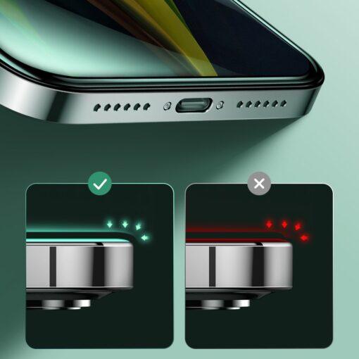 iPhone 12 ja 12 Pro kaitseklaas sinise valguse kaitsega Anti Blue light Joyroom 8