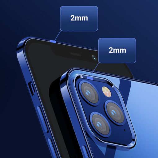 iPhone 12 ja 12 Pro silikoonist umbris laikivate servadega Joyroom must 10