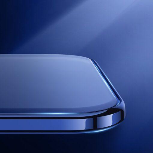 iPhone 12 ja 12 Pro silikoonist umbris laikivate servadega Joyroom must 8