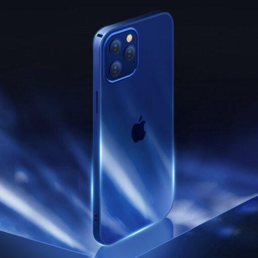 iPhone 12 ja 12 Pro silikoonist umbris laikivate servadega Joyroom sinine 1