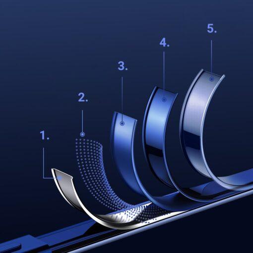iPhone 12 ja 12 Pro silikoonist umbris laikivate servadega Joyroom sinine 6