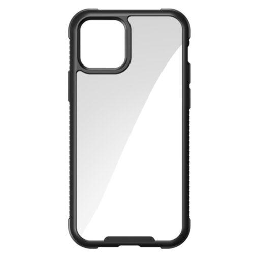 iPhone 12 ja 12 Pro umbris tugevdatud nurkadega Joyroom Frigate must
