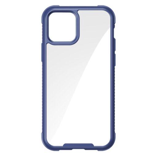 iPhone 12 ja 12 Pro umbris tugevdatud nurkadega Joyroom Frigate sinine