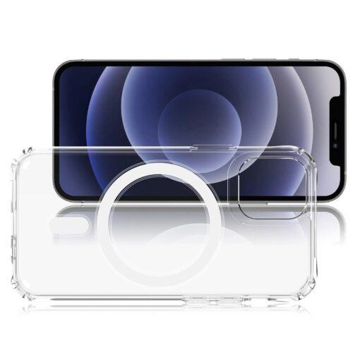 iPhone 12 mini MagSafe umbris silikoonist Joyroom Michael Series labipaistev 1