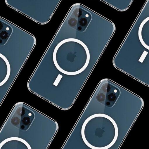 iPhone 12 mini MagSafe umbris silikoonist Joyroom Michael Series labipaistev 11
