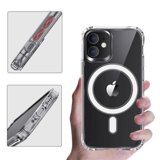 iPhone 12 mini MagSafe umbris silikoonist Joyroom Michael Series labipaistev 2