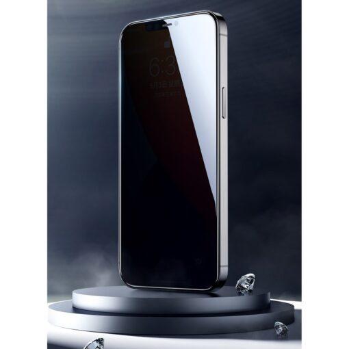 iPhone 12 mini privaatsusfiltriga kaitseklaas Joyroom Knight 1