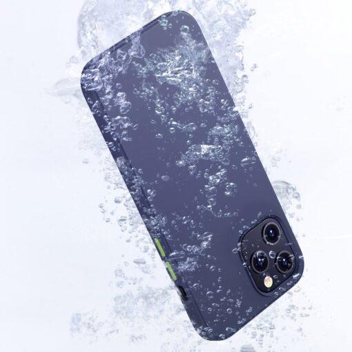 iPhone 12 mini silikoonist umbris Joyroom Color Series roheline 8