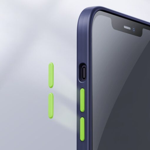 iPhone 12 mini silikoonist umbris Joyroom Color Series sinine 10