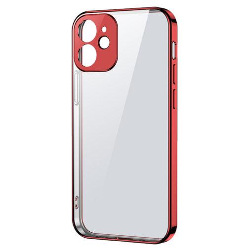 iPhone 12 mini silikoonist umbris laikivate servadega Joyroom New Beauty punane