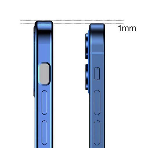 iPhone 12 mini silikoonist umbris laikivate servadega Joyroom New Beauty sinine 3