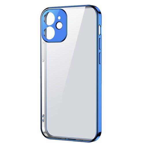 iPhone 12 mini silikoonist umbris laikivate servadega Joyroom New Beauty sinine