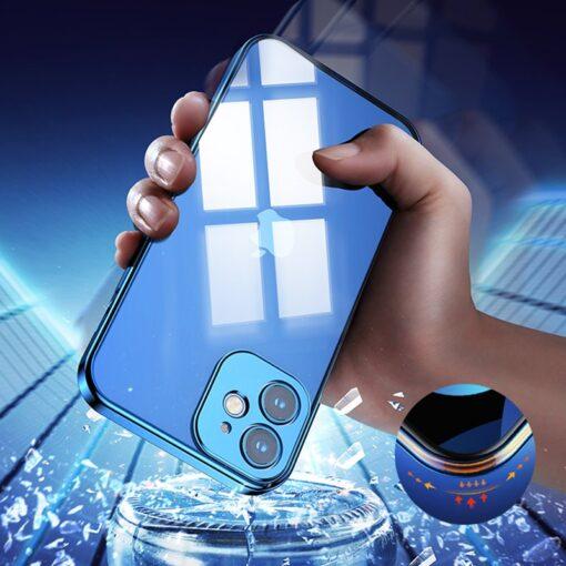 iPhone 12 mini silikoonist umbris laikivate servadega Joyroom New Beauty sinine 7