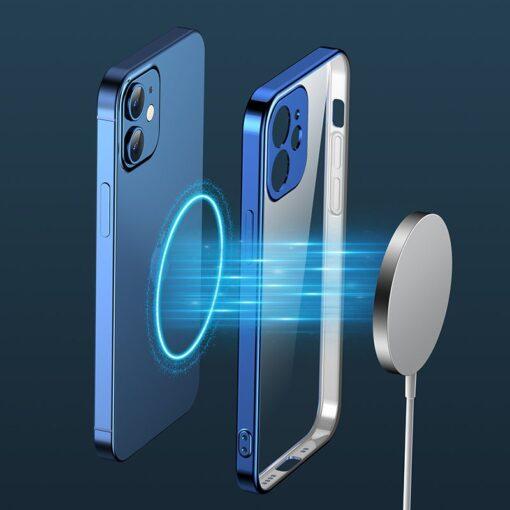 iPhone 12 mini silikoonist umbris laikivate servadega Joyroom New Beauty sinine 8