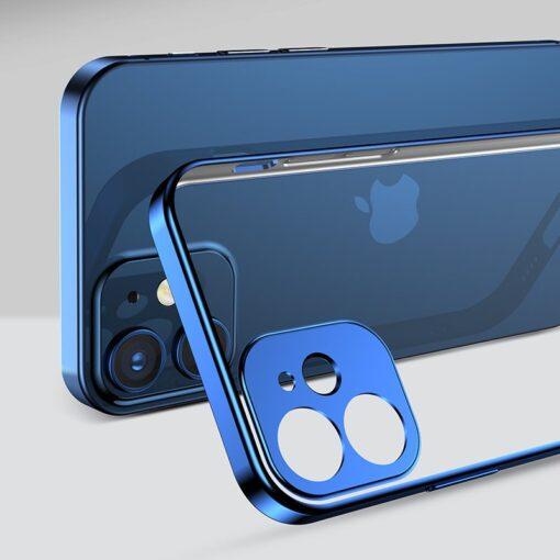 iPhone 12 mini silikoonist umbris laikivate servadega Joyroom New Beauty sinine 9