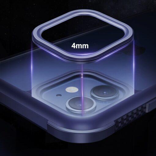 iPhone 12 mini umbris tugevdatud nurkadega Joyroom Frigate must 4