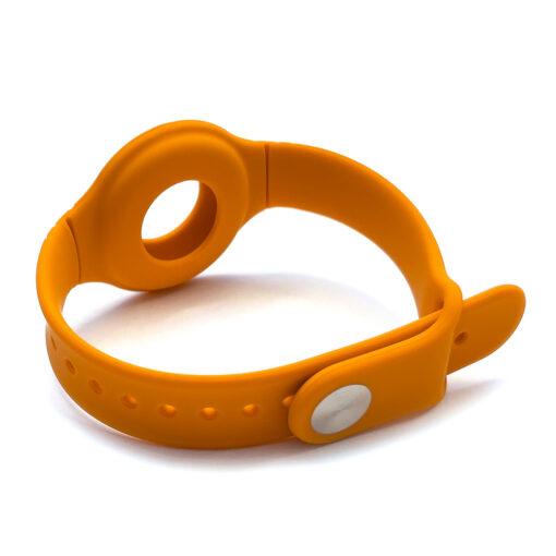 Apple Airtagi kaevaru silikoonist oranz 1