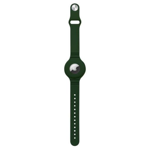 Apple Airtagi kaevaru silikoonist roheline