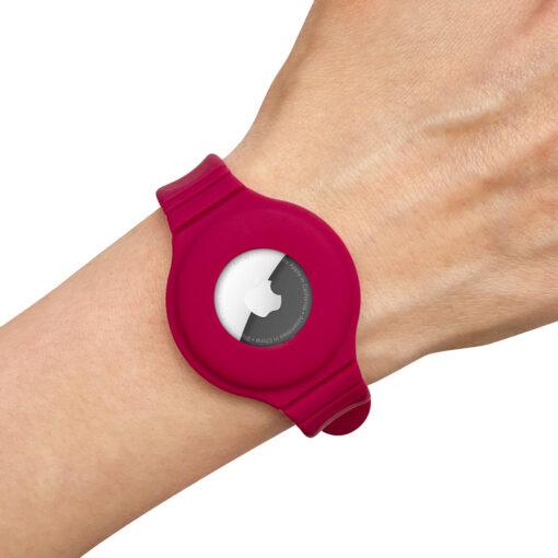 Apple Airtagi kaevaru silikoonist roosa 2