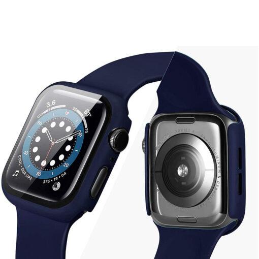 Apple Watch Defense360 ekraanikaitse 44mm must 2
