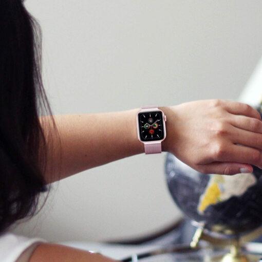 Kellarihm Milaneseband Apple Watch SE654 4244mm Silver 2