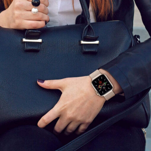 Kellarihm Milaneseband Apple Watch SE654 4244mm Silver 3
