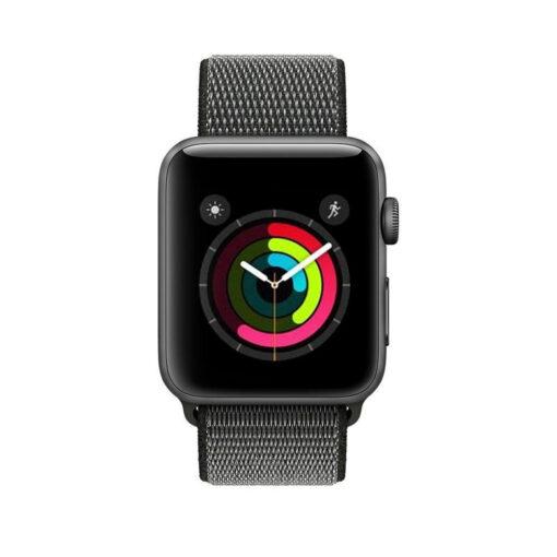 Kellarihm Nylon Apple Watch SE654 4244mm Dark Olive 1