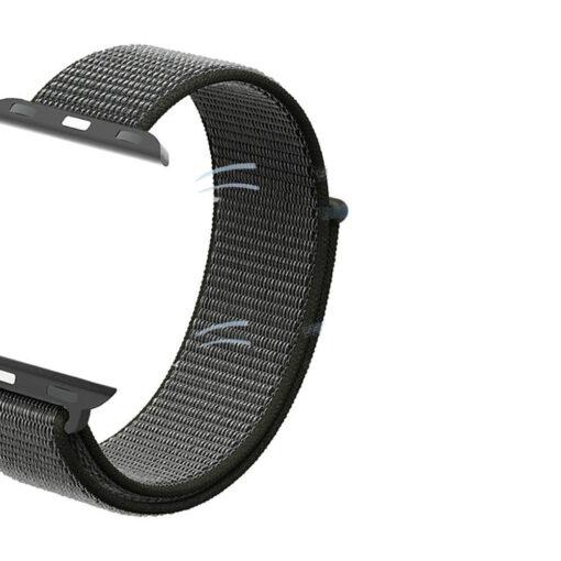 Kellarihm Nylon Apple Watch SE654 4244mm Dark Olive 3