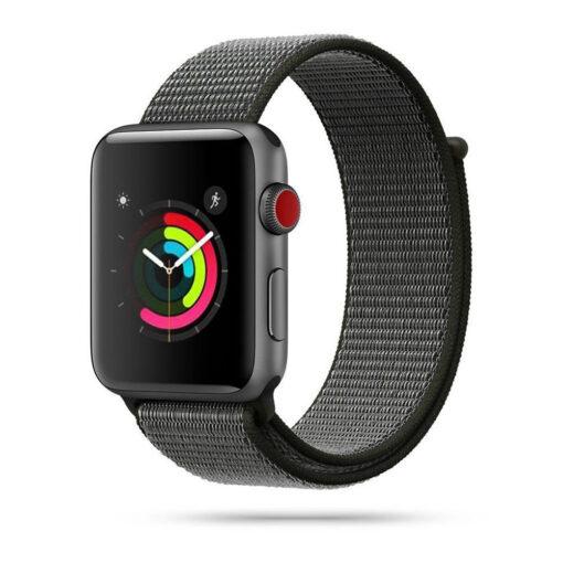Kellarihm Nylon Apple Watch SE654 4244mm Dark Olive