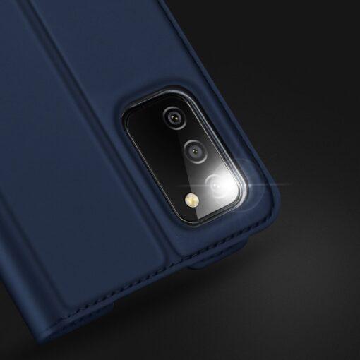 Samsung A02s kunstnahast kaaned DUX DUCIS Skin Pro Bookcase roosa 13