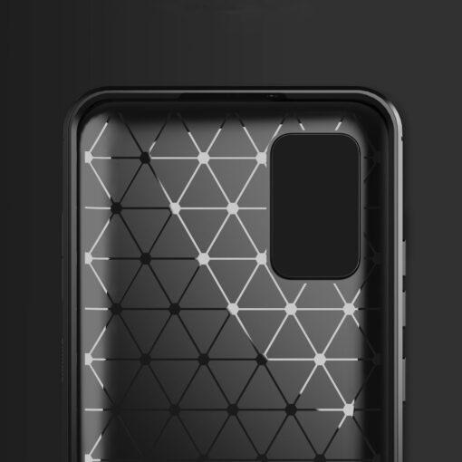 Samsung A02s umbris silikoonist Carbon must 3