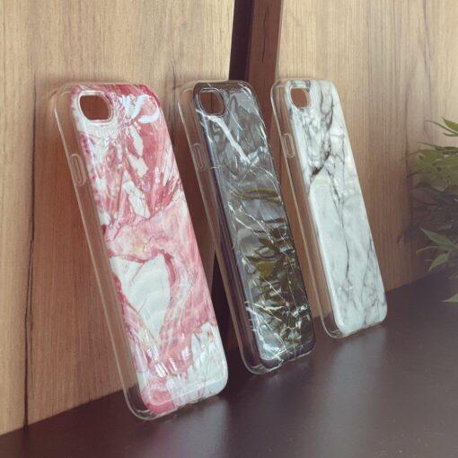 Samsung A02s umbris silikoonist marmori imitatsiooniga roosa 7